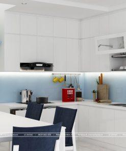 tủ bếp thông minh acrylic